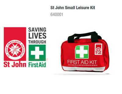 St Johns, Emergency Medical First Aid Kit Home Car Office Workplace boat Travel