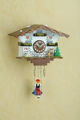 German Black Forest Swiss House Swing clock Quartz movement cuckoo
