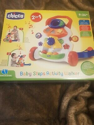 Chicco Baby Steps Activity Walker - New