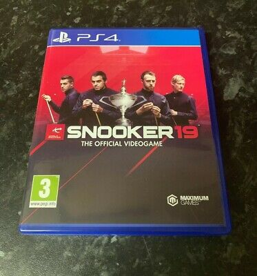 Snooker 19 - The Official Videogame - PS4 (Playstation 4) Game