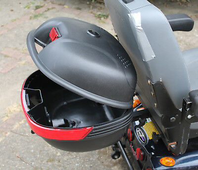 Mobility Scooter Rear Detachable Pannier Top Box Back Storage Container Carrier