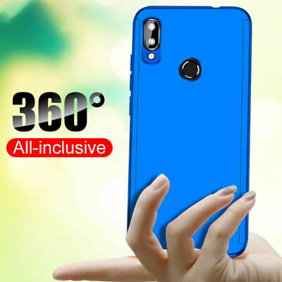 360°Full Protect Hard Case Cover +Tempered Glass Film For Samsung Galaxy A50 A30