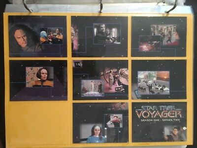 Star Trek Voyager Season One Series Two 89 Card Lot