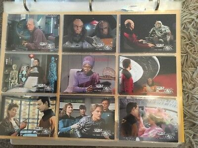 Star Trek TNG Season 4/5 31 Card Lot