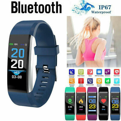 Fitness Smart Watch Activity Tracker WomenMen Kids Android iOS Heart Rate US