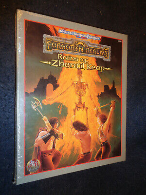 Advanced Dungeon & Dragons Forgotten Realms Ruins Of Zhentil Keep Sealed-O11-Fl