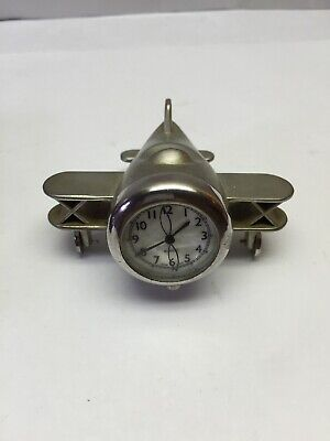 Art Deco Aeroplane Clock