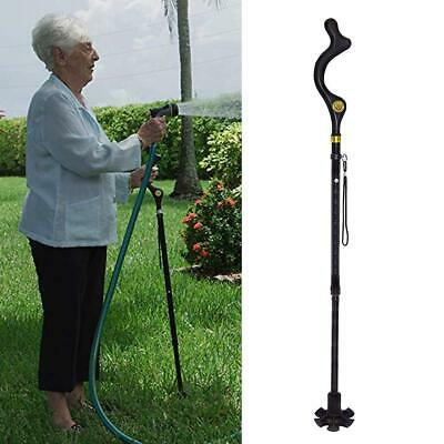 Campbell Posture Cane - Walking Cane with Adjustable Heights