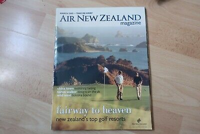 Air New Zealand Magazine Issue March 2005
