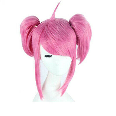 Synthetic None-lacewigs L-email Wig New Game Lol Lux Star Guardian Cosplay Wigs Heat Resistant Synthetic Hair Perucas Cosplay Wig Hair Extensions & Wigs