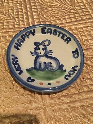 M A Hadley Ca Very Happy Easter To You. Coaster/ Trinket Dish.