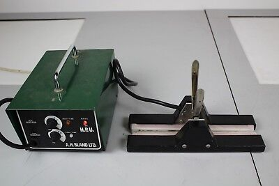 Laboratory Heat Sealer 28cm A H Bland Ltd Heat/Cool Regulator