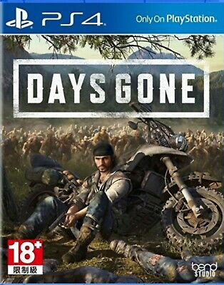 Days Gone Asia Chinese/English subtitle PS4 BRAND NEW