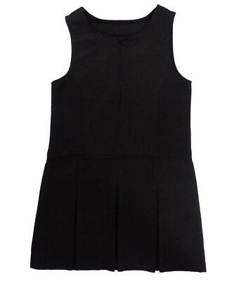 Girls Grey Pinafore School Dress Ex Store