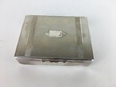 Vintage Aristocrat Silver Plate? Wooden Small Trinket Style Collectable Box