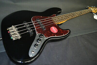 19b2020974a 2014 SQUIER CLASSIC Vibe 60s Jazz Bass-Inca Silver-Upgraded ...