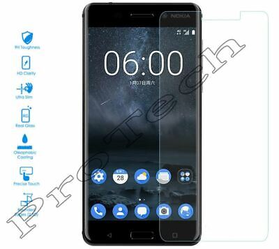 100% Genuine Real Tempered Glass Screen Protector Cover for Nokia 6.1 (2018)
