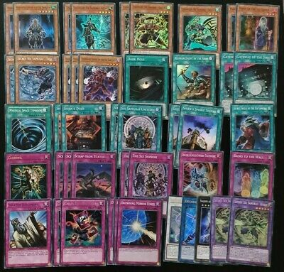 YUGIOH SIX SAMURAI Deck Ready To Play 45 Cards 40 Main 5 Extra Deck
