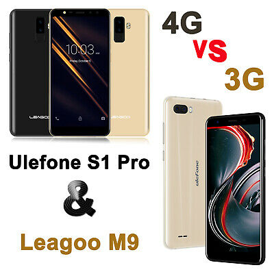 Leagoo/Ulefone 5.5 inch Face ID Android 8.1 Mobile Smart Phone 16GB 2G 3G 4G LTE