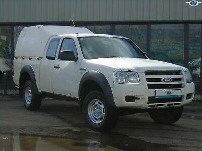 FORD RANGER TDCi 143 Duratorq 4WD Entry White Manual Diesel, 2009