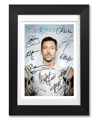 House Md Cast Signed Poster Tv Show Dvd Series Season Print Photo Autograph Gift