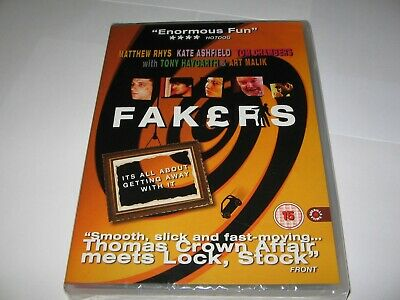 Fakers (2004) Matthew Rhys Tony Haygarth - Region 0 New / Sealed Dvd