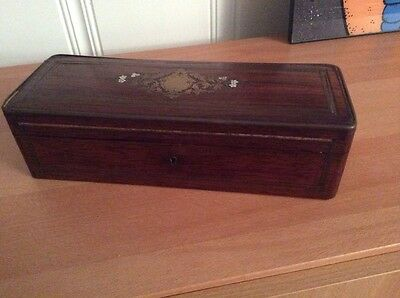 Antique French Napoleon TAHAN Paris GLOVE BOX Master Cabinetmaker to Emperor