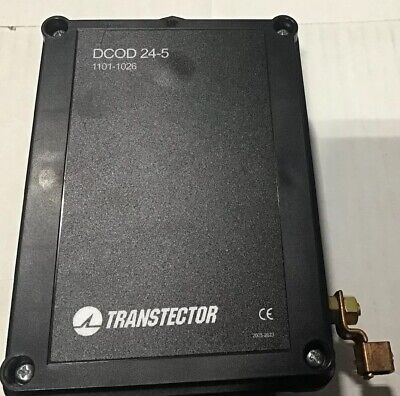 DCOD 24-5 Transtector Surge Suppressor TR2016000574370-0005(1101-1026)