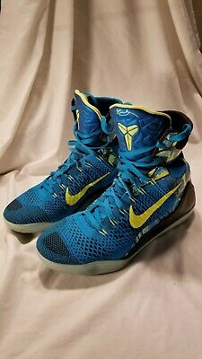 wholesale dealer e18d1 32db5 NIKE KOBE IX 9 ELITE HIGH  PERSPECTIVE  (630847-400) Men s Sz