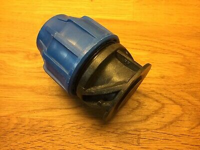 MDPE 32mm End Stop Plastic Compression Fitting