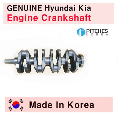 New Genuine Engine Crankshaft 23111 261001 for 01-10 Hyundai Accent 1.6L