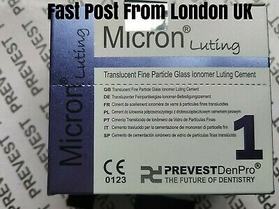 New Denseal Permanent Dental Glas Ionomer Luting Tooth Cement Crown Bridge Vener