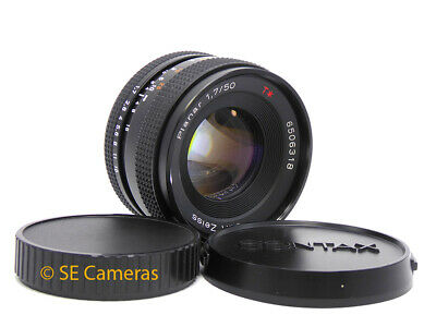 Carl Zeiss Planar 50Mm F1.7 T* Fast Prime Lens Contax Yashica Fit *Excellent*
