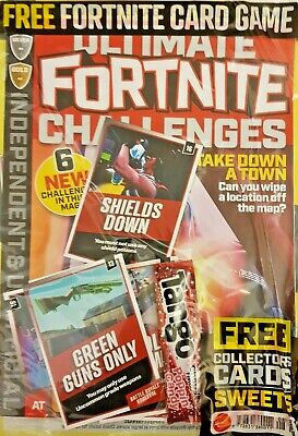 Ultimate  Fortnite Challenges Magazine 2019 = # 08 = Free Card Game