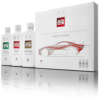 Autoglym Gift Kit - Perfect Exterior Bodywork Shampoo Polish Gloss Protection
