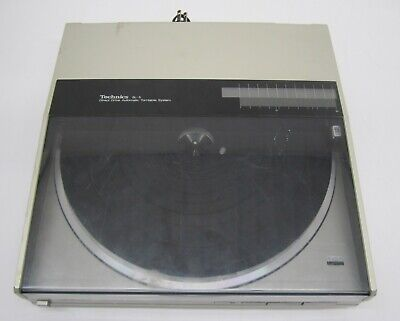 Vtg Technics SL-5 Direct Drive Automatic Turntable Record Player Stanton L720