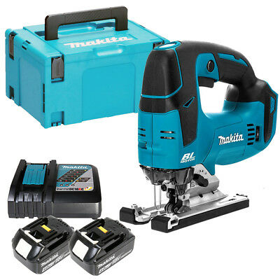 Makita DJV182Z 18V LXT Brushless Top Handle Jigsaw With Makpac Case /& Inlay