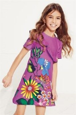 Girls exN*xt N-xt Kids Floral Dress in Lilac