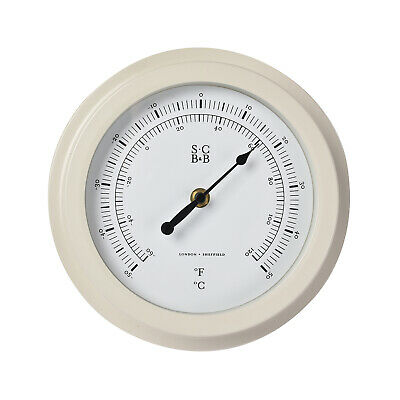 Burgon & Ball - Sophie Conran Buttermilk Garden Dial Thermometer in Gift Box