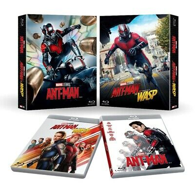 Ant-Man + Ant-Man and the Wasp ( 2-Movie Collection Blu-ray ) / Region A