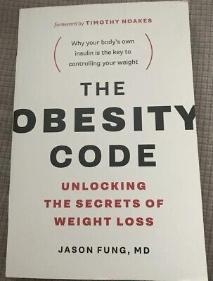The Obesity Code Unlocking the Secrets Of Weight Loss Paperback - Free Shipping