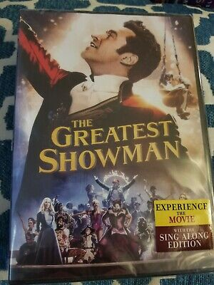 The Greatest Showman (DVD, 2018)  Biography, Drama, Musical