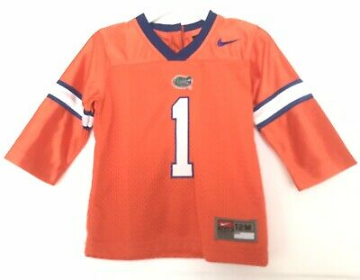 f8ae31934 Nike 12M 12 Months Florida Gators #1 Nike Baby Boy Football Jersey Orange  Blue
