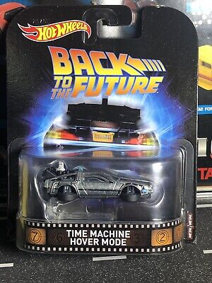 Hot Wheels Back To The Future Time Machine Hover Mode Retro Entertainment