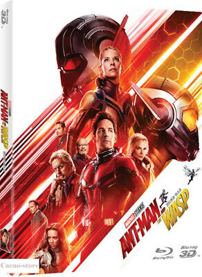Ant-Man and the Wasp ( 2Disc : 3D + 2D Blu-ray ) / Region A