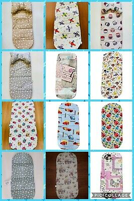 Fashion Baby Pushchair Soft Cotton Liner Pad Infant Stroller Pram Mat Cushion