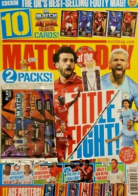 Match Of The Day Magazine 23 April 2019 # 551 = 10 Free Extra Cards = 2 Packs