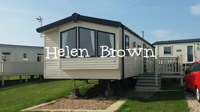 Seaside Beach 3 Bed  Static Caravan Available For Hire On Blue Dolphin Filey