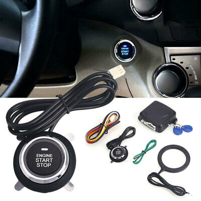 3FEB ABS Smart Key Ignition Keyless Ignition Starter Car Car Push Button