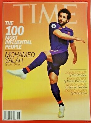Time Magazine 29 April 2019 Double # =100 Most Influential People=Mohamed Salah